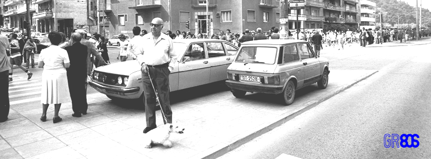 Φωτογραφία του Σπύρου Στάβερη, ο Γύρος της Αθήνας, 1982