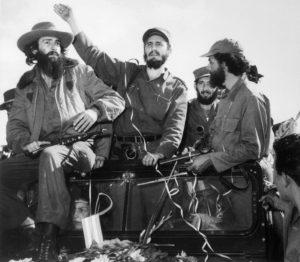 Fidel Castro Waving
